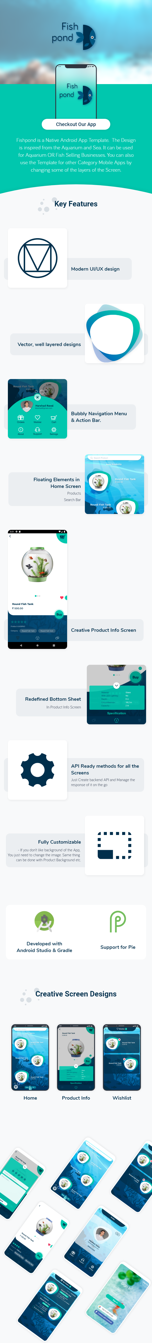 Fishpond - An E-commerce Android Template - 1